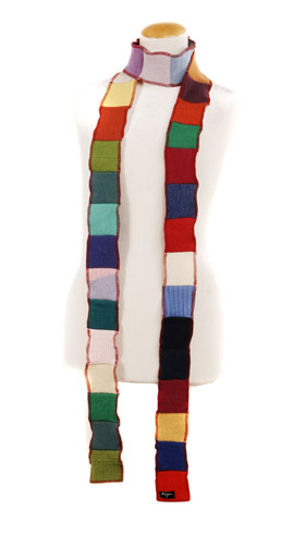 Small Winter Skinny Scarves
