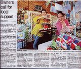Support Small Business Day, Ballarat Courier - October 2013